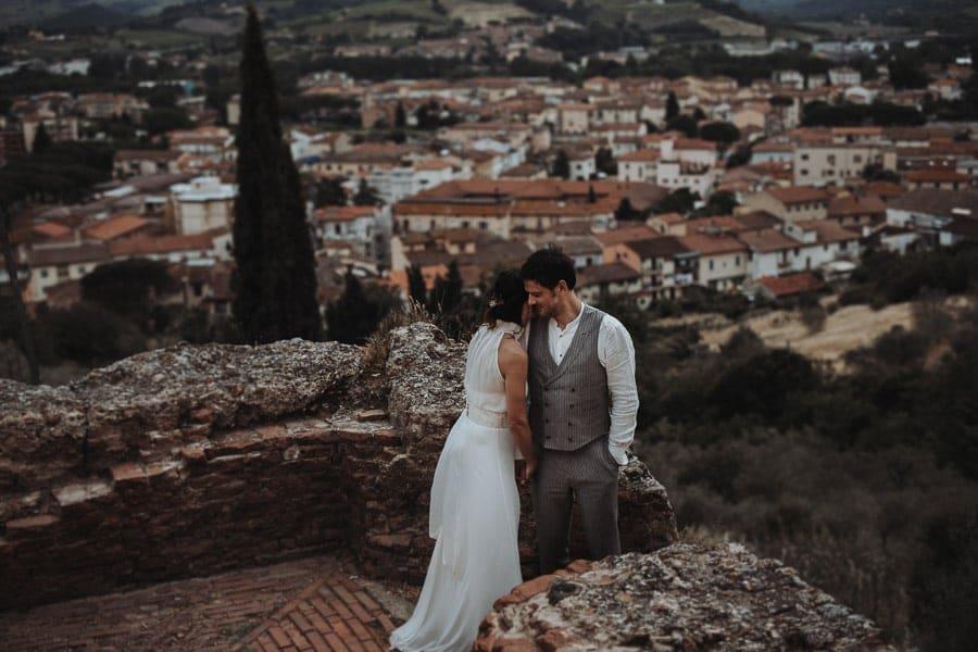 Brautpaarfotoshooting Toskana