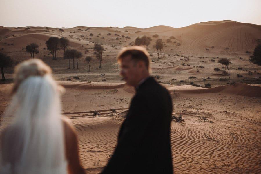 Hochzeitsreportage in der Wueste