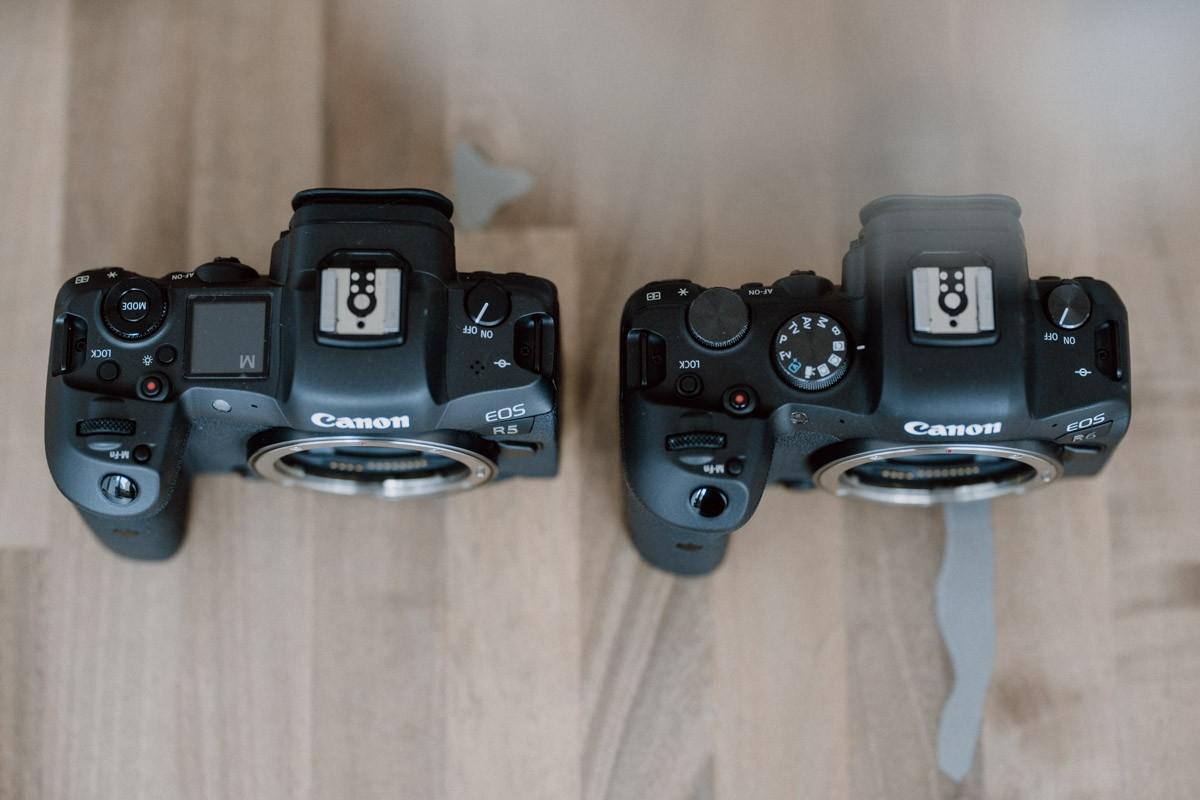 Canon Eos R5 und R6