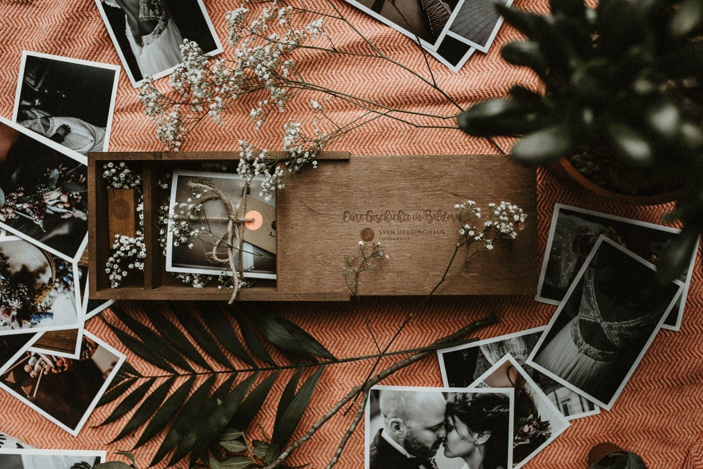 Hochzeitsfotograf Sven Hebbinghaus Geschenkbox