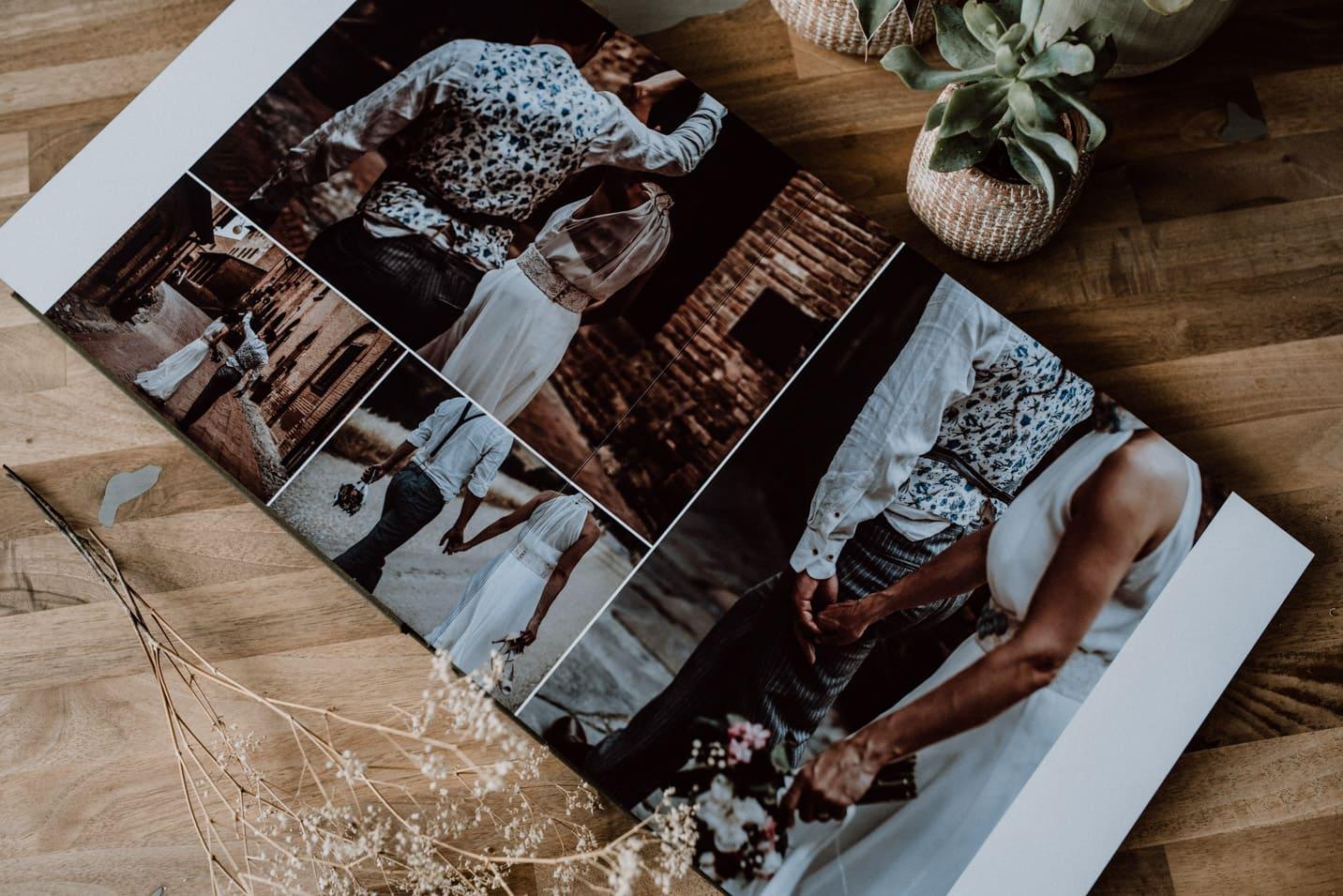 exklusive Fotoalben von Hochzeitsfotograf Sven Hebbinghaus