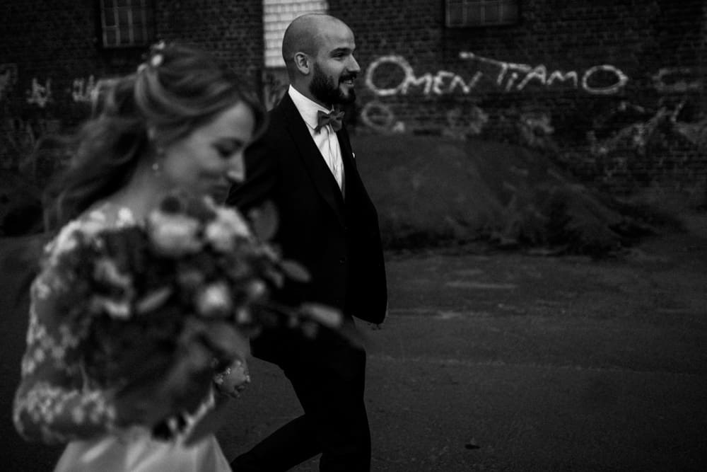 schwarz weiß Preset für Hochzeitsfotografen