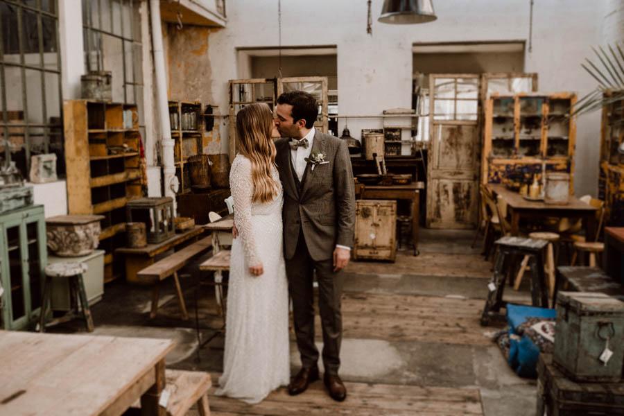 Brautpaar im Rarehouse