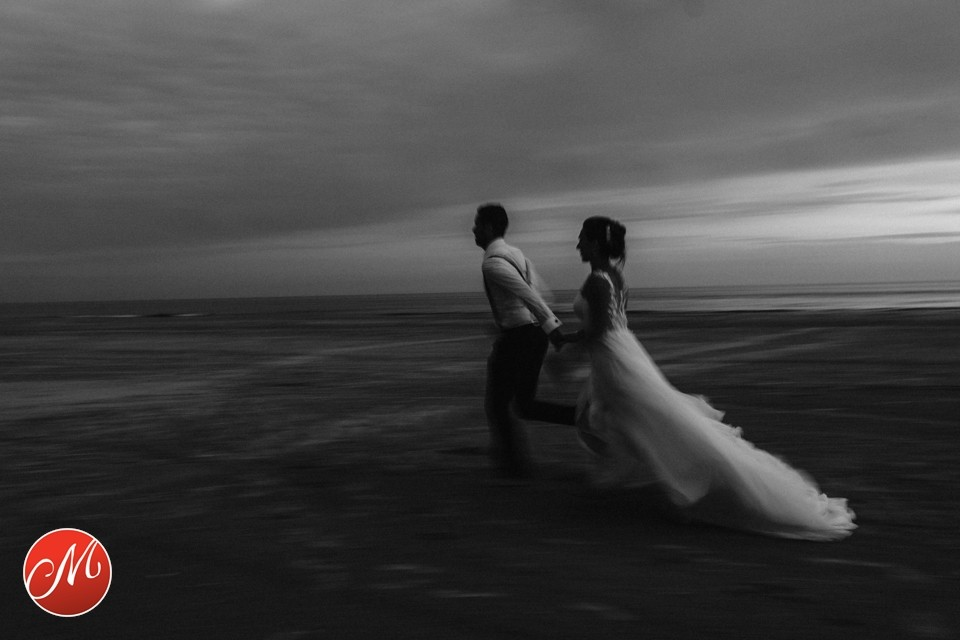 Hochzeitsfoto am Strand